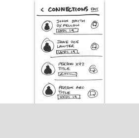 Link to Batch Tag Contacts Paper Prototype User Flow