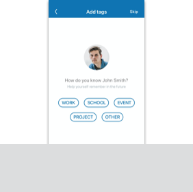 Link to Add New Contact Digital Prototype User Flow